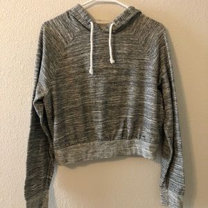 Mossimo Cropped Thin Hoodie